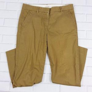 J. Crew Size 6 Tall Pants City Fit Straight Leg